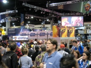 Comic-Con Exhibition Hall